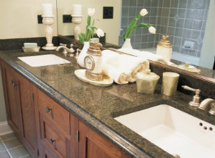 Bathroom countertop1A